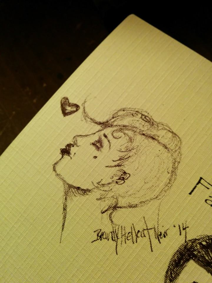 a quick tiny sketch for fun.. by sinisterkiss