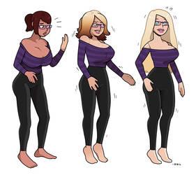 CMSN- Barbie girl by blackshirtboy