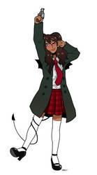 CMSN- Alice St.Claire by blackshirtboy