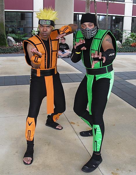 Reptile mortal kombat costume - photo#23
