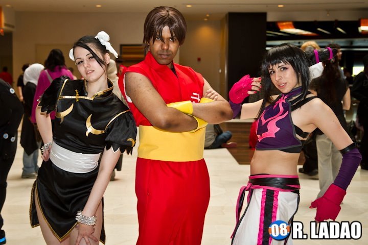 Chun Li, Guy and Juri by R-Legend