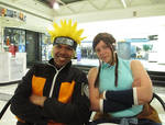 Naruto and Korra by R-Legend