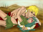 Commission: Naruto and Nelliel Tu by R-Legend