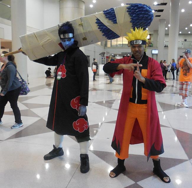 Kisame vs. Naruto by R-Legend
