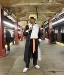 Gakuen Naruto On The New York Subway