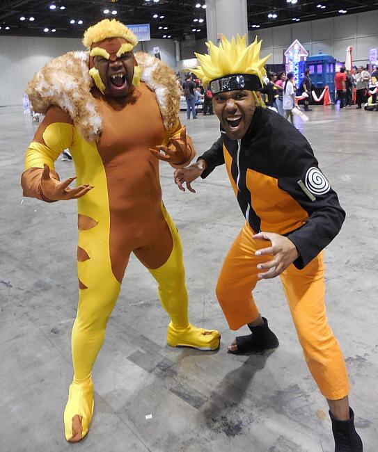 Sabertooth and Naruto