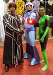 Kirito, Mega Man X and Green Lantern