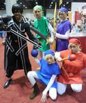 Kirito and the Four Swords