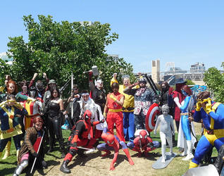 Marvel vs. Capcom Gathering at SDCC 2014 by R-Legend