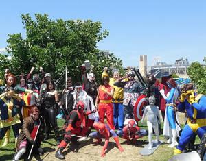 Marvel vs. Capcom Gathering at SDCC 2014