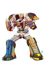 Commission: THE Mega Tigerzord