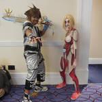 Sora and Titan Waifu