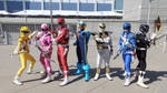 Mega Morphin Power Rangers by R-Legend