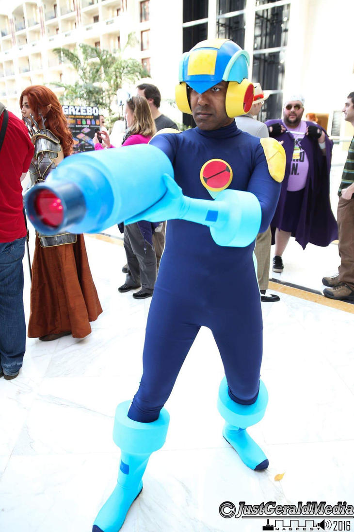 MegaMan.EXE At MAGFest by R-Legend