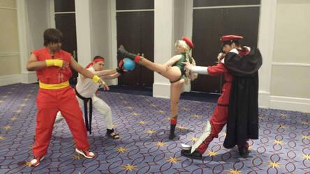 Street Fighter Team Battle by R-Legend