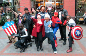 Marvel Group Shot at MAGFest 2016