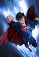 Commission: Superman Ryoga