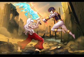 Commission: IceFire vs. FireIce