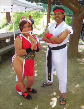 Mai Shiranui and Ryu
