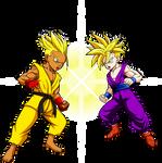Commission: Battle Of The Super Saiyans