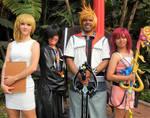 Namine, Xion, Roxas and Kairi by R-Legend