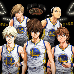 Commission: Golden State Warriors Gundam Wing