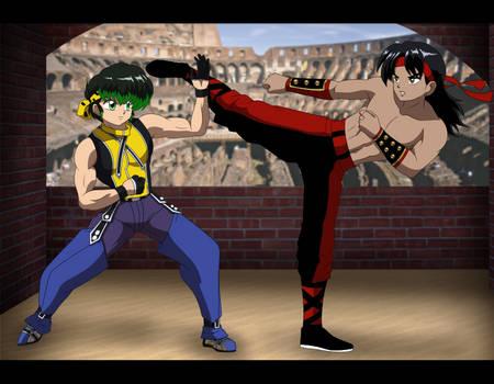 Commission: Jiraiya vs. Liu Kang