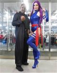 Nick Fury and Psylocke