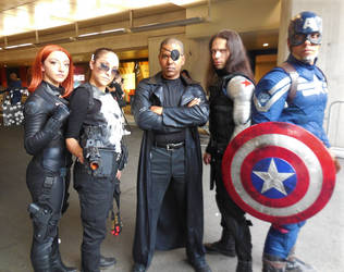 Captain America: The Winter Soldier Group by R-Legend