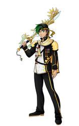 Commission: Ultima Keyblade Master Jiraiya