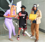 Gadget, Miami Heat Vanitas and Monterey Jack by R-Legend