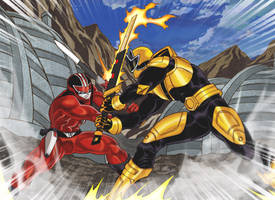 Commission: Red vs. Gold