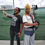 Xavier Woods and Roxas by R-Legend
