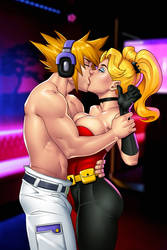 Commission: Neku and Harley