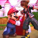 Commission: Mario Meets Sora by R-Legend