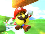 Commission: Pac-Man as Mario