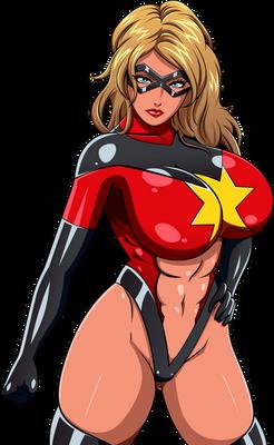 Commission: Moonstone as Ms. Marvel
