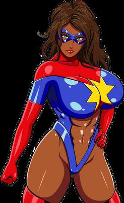 'Kamala Khan' Moonstone as Ms. Marvel
