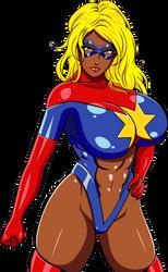 'Kamala Khan' Moonstone as Captain Marvel