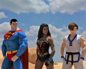 Commission: Justice League Unlimited