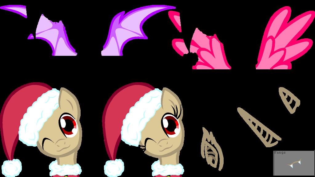 Bigger Christmas Pony Base by HeartlessKeyWielder on DeviantArt