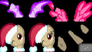 Bigger Christmas Pony Base