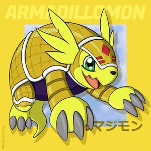 Armadillomon Digimon Adventure 02