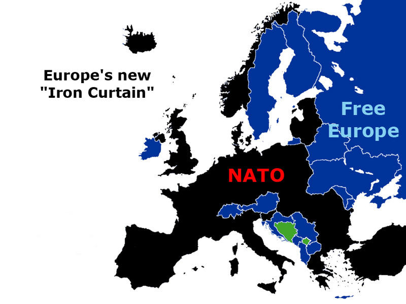 Europeu0027s New Iron Curtain By SolomoneCaine ...