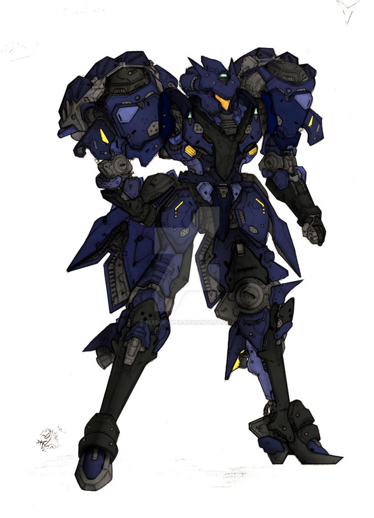 Voltaire SWAT colors by sledgeviper