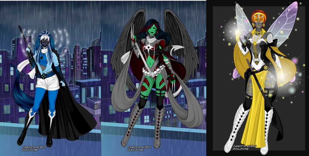 My X-Girl Oc... First Night Dress Up Games
