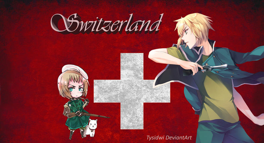 Hetalia Switzerland Wallpaper by Tyusidwi