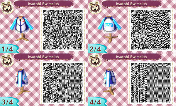 Animal Crossing Free Qr Codes By Tyusidwi On Deviantart