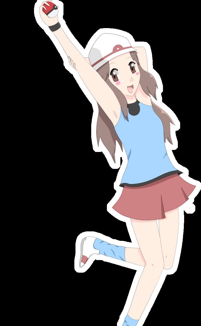 Pokemon Leaf Green Girl Version 2 By Rainingteddybears On Deviantart