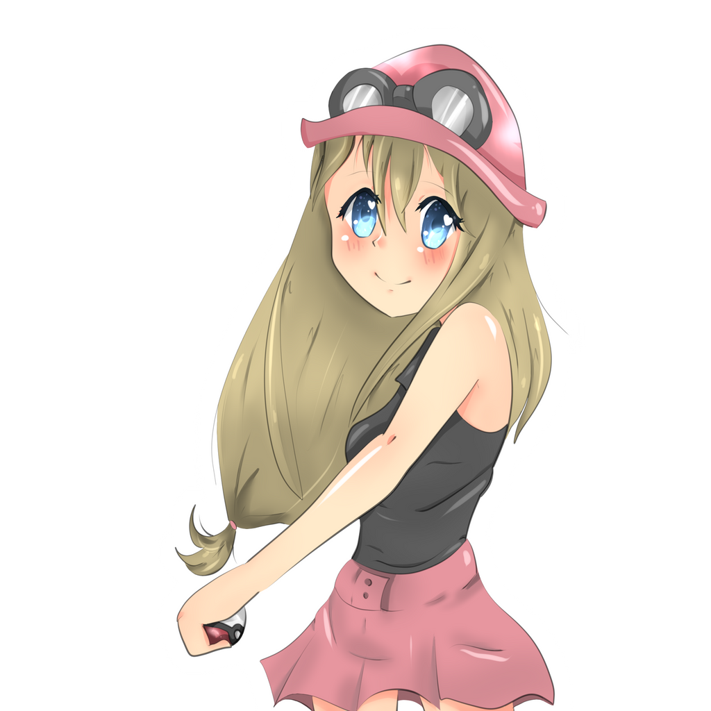 Pokemon X Y Girl by RainingTeddyBears